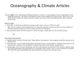 th grade advanced science writing prompts geology articles  oceanography climate articles choose one of the following writing prompts to write a 3