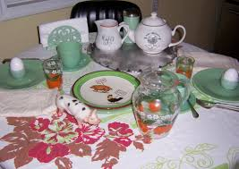 Table Setting For Breakfast Black Eyed Susans Kitchen A Mixed Up Breakfast Table