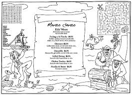 Restaurant Coloring Pages Free