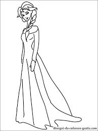 Disegni Principessa Elsa Da Stampare Disegni Da Colorare Gratis