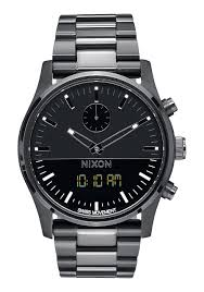 duo men s watches nixon watches and premium accessories duo all black