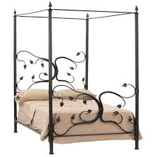 Wrought Iron Canopy Bed - Eden Isle Canopy Bed