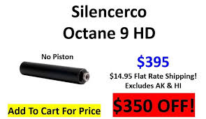 Silencerco Piston Chart Silencerco Octane 9 Hd 9mm No Piston 395 Add To Cart To Get This Price