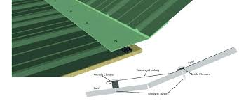 metal roof closures panel ridge closure strips roofing vented n deck cl