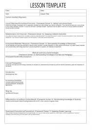 Lesson Plan Printable Template 020 Lesson Plan Template Elementary Class Planning Printable