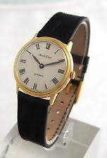 bueche girod wristwatches bueche girod 18k yellow gold vintage men s automatic dress watch