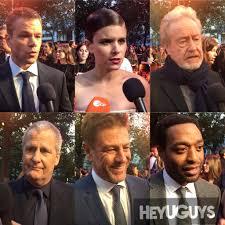 European Premiere Interviews: Ridley Scott, Matt Damon and the Cast of The  Martian