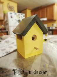 Diy Birdhouse Easy Diy Birdhouse Kit Project O The Fit Cookie