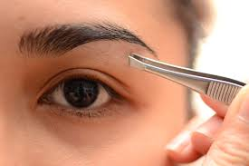 eyebrow tweezing. if you really want to pluck them though we recommend only plucking the stray hairs that have grown around shape of your eyebrows. too close eyebrow tweezing