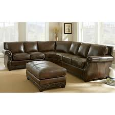 Leather Sofas  Sectionals Costco - Leather livingroom
