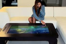 get ready for the smart coffee table