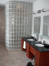 glass block shower installation instructions holler showers windows walls basement