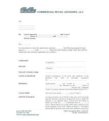 Real Estate Lease Template Commercial Real Estate Lease