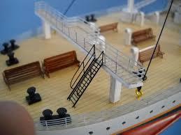 rms titanic model ship replica 50 17
