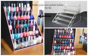 nail polish table rack