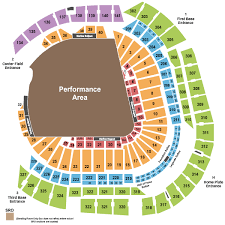 Marlins Stadium Seating Chart Marlins Ballpark Seating Chart Miami