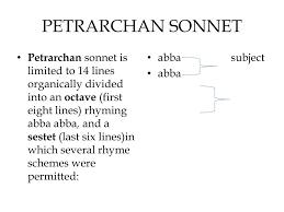 Petrarch's sonnet on love as bondage