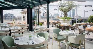 beautiful rooftop restaurants in london