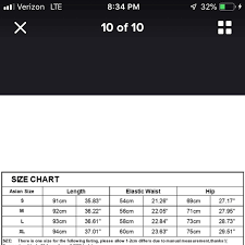 Size Xxl However This Is The Asian Sizing Chart Depop