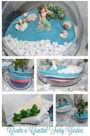 how to make a fun beach themed fairy garden