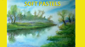 pastel paint colorslandscape paintings  soft pastels  paintings  soft pastel