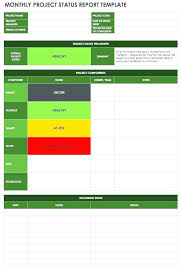Simple Report Template Project Feedback Report Template Weekly Project Status Report
