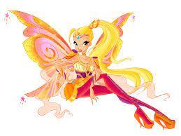 Stella fairy of the shining sun. Collab Stella Bloomix Winx Club Bloom Winx Club Drawings