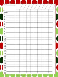 Free Teacher Gradebook Template Printable Nursingclasses Us