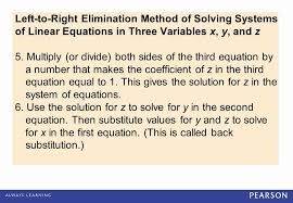 systems of equations elimination method worksheet luxury objectives ï solve systems of linear equations in three variables