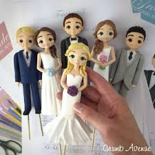 Bride Groom Cake Toppers Cake By Crumb Avenue Cakesdecor