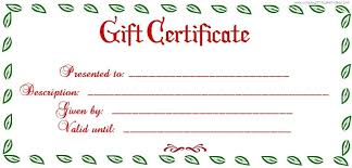 christmas certificates templates blank christmas gift certificate templates free template business