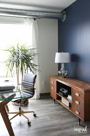 indigo home office. Indigo Batik - Feature Wall Paint For My Home Office Inspired By Charm
