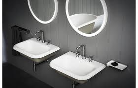 <b>Washbasin tap</b> set designed to fit three holes - Agape