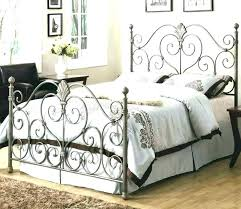 Iron Bed Frames King Metal Bed Frames King Wrought Iron King Size ...