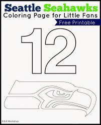 Small Picture R Workshop Seattle Seahawks Coloring Page For Kids Within Pages