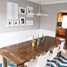 farm house table with modern chairs find this pin and more on dining