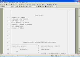Pleading Paper In Word Wordperfect Office Tutorials