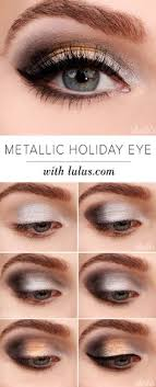 metallic eyeshadow tutorial 12 party perfect beauty tutorials that ll make you sparkle