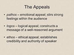 Image result for ethos rhetoric