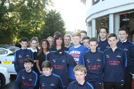carryduff colts u15 sponsors carryduff colts keith mcmanus and brian maguire of mcguire farry accountants in carryduff hand over a new set of jerseys to the carryduff colts u15 squad