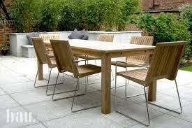 tripoli contemporary teak garden chairs