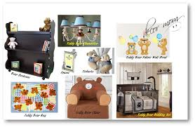 vision board 1 teddy bear nursery theme