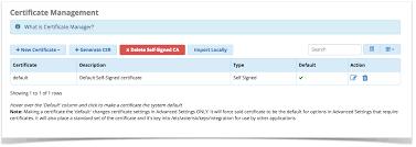 Making A Certificate Certificate Management User Guide Pbx Gui Documentation