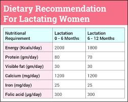 Lactation Diet Chart Indian Foods For Breastfeeding Mothers To Increase Breast