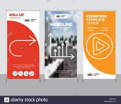 Play Button Modern Business Roll Up Banner Design Template