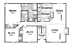 split floor plan house