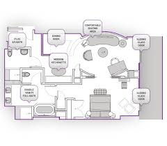 Cosmopolitan 2 Bedroom Suite Simple Inspiration