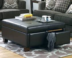 abbyson living havana round leather coffee table large size of amazing large leather coffee table in
