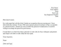 A Letter Of Resignation Writing A Letter Of Resignation Writing ...