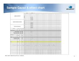 understanding and preparation of cause effect diagram sample cause effect